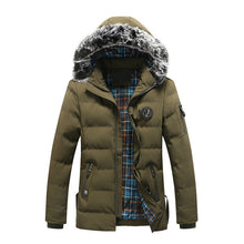 Parka with Faux Fur Hood (4 Colors)