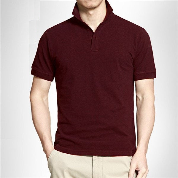 Wine Red Polo Shirt