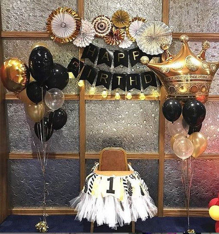 GOLDEN BLACK BIRTHDAY PACKAGE