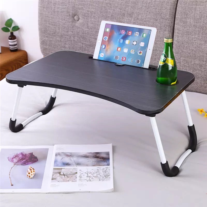 Home Folding Laptop Bed Tray Table Portable Lap Support Frame