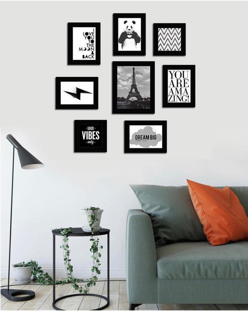8 Pcs Wall Art Frames
