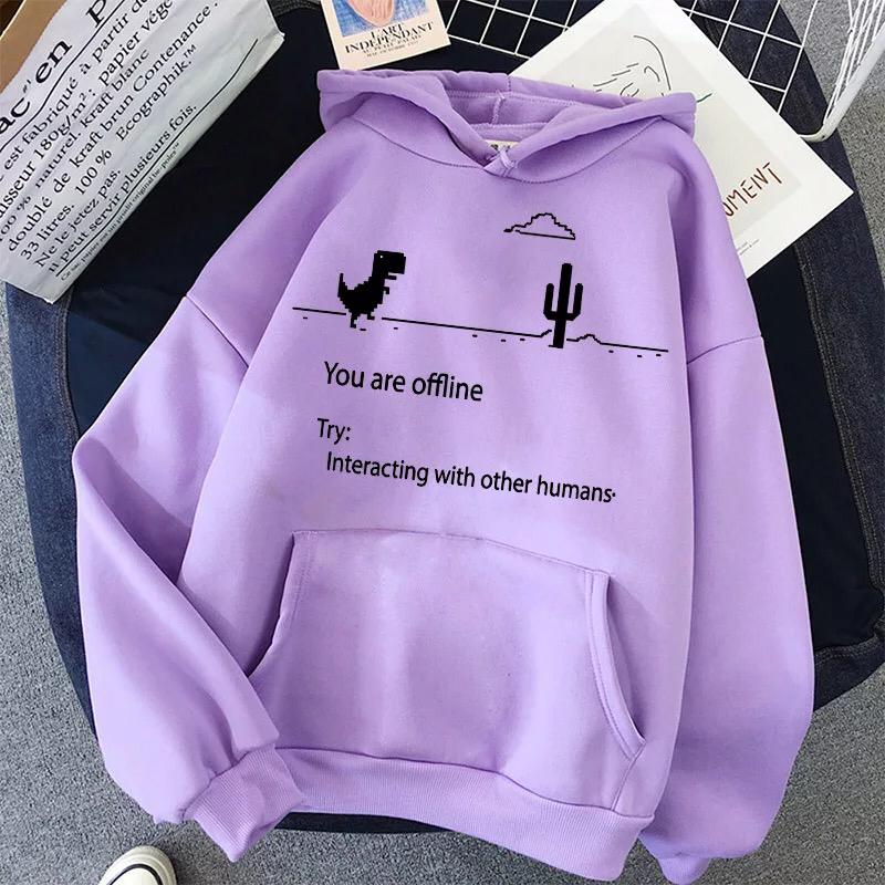 Interacting With Other Humans Hoodie