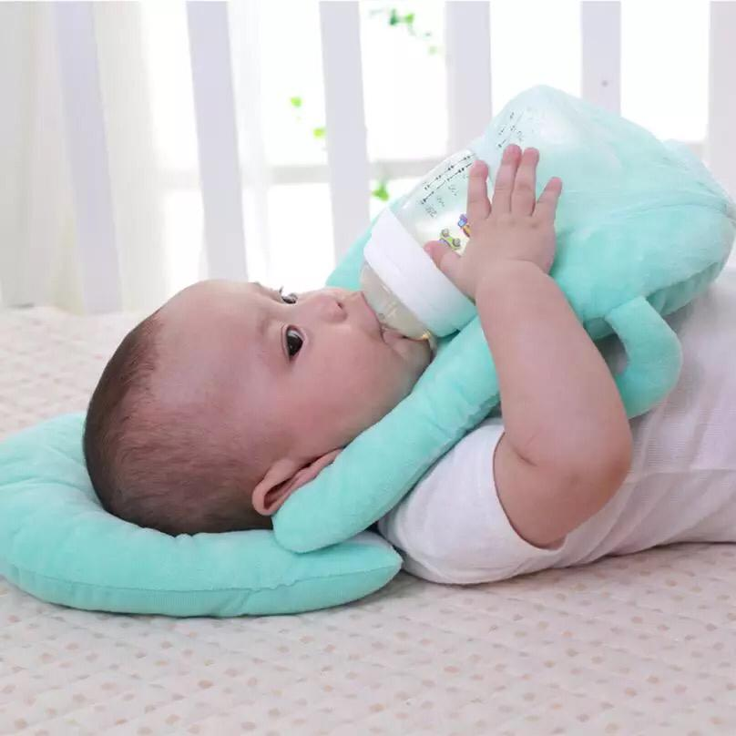 Baby Pillows Multi Function Nursing Layered Washable Cover Adjustable
