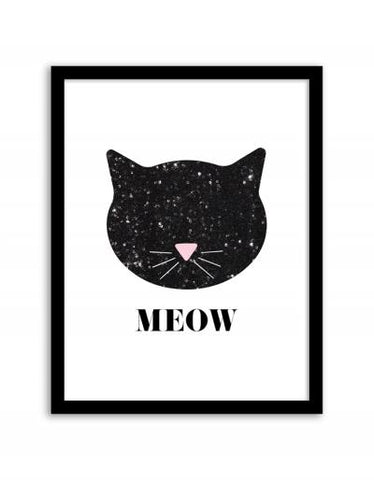 Meow Wall Art Frame