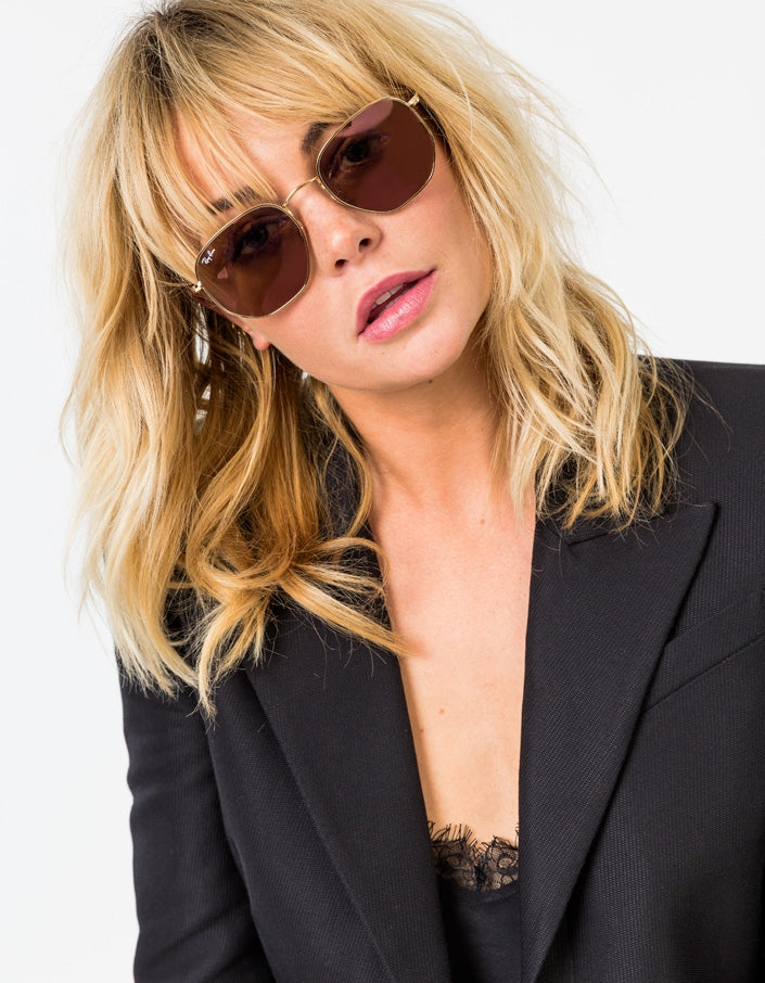 See Through Diamond Cut Sunglasses
