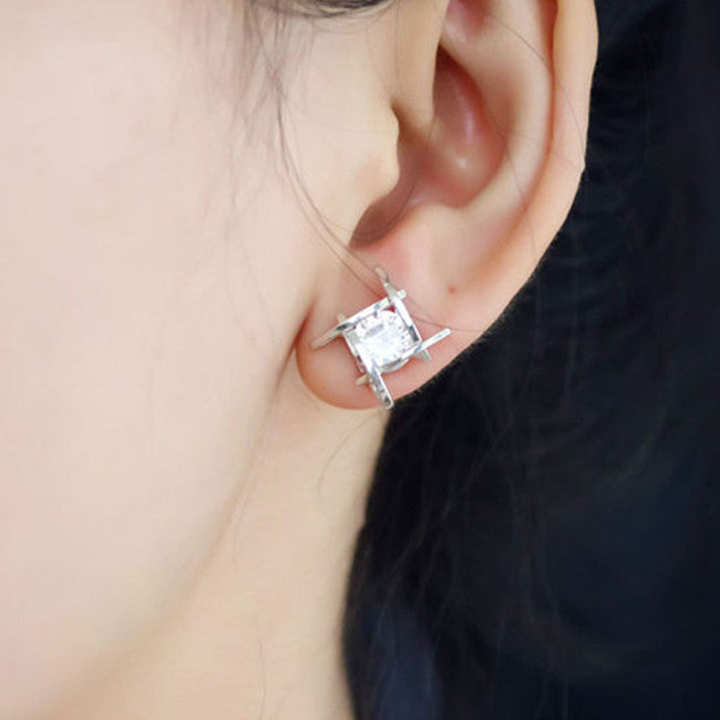 Charming Square Earrings