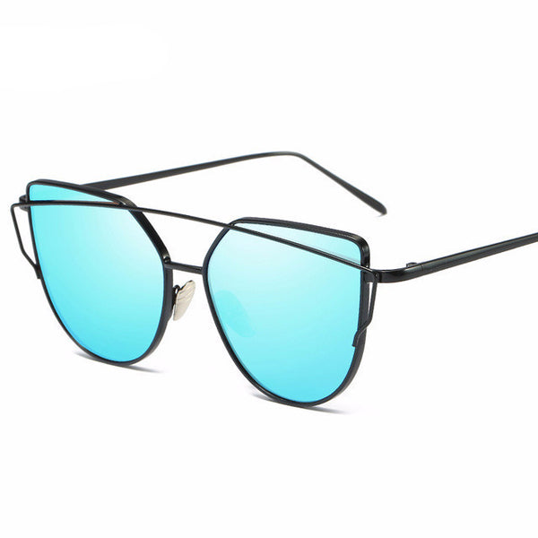 Mirror Cat Eye Sunglasses