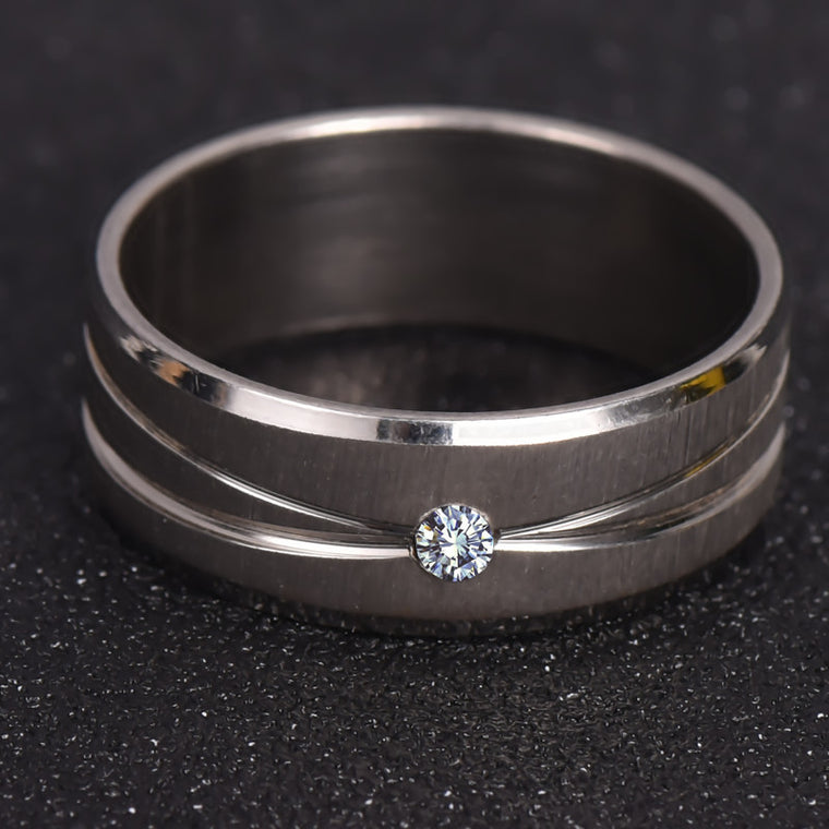 Ring with Paved CZ