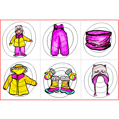 Transitions Habillement d'hiver Fille (Moyen et Grand) / Winter Girl Clothing (Medium and Large)
