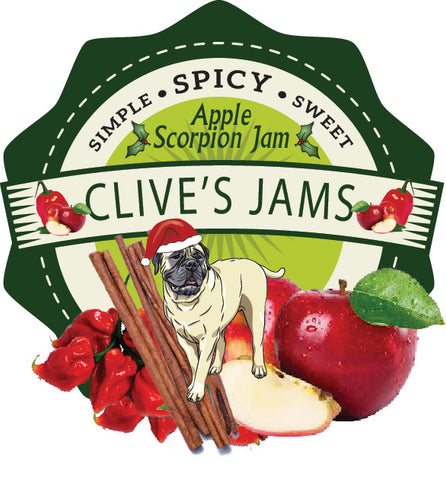 Clive's Apple Scorpion Jam