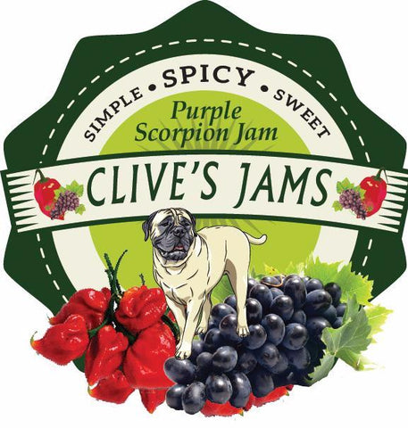 Clive's Purple Scorpion Jam