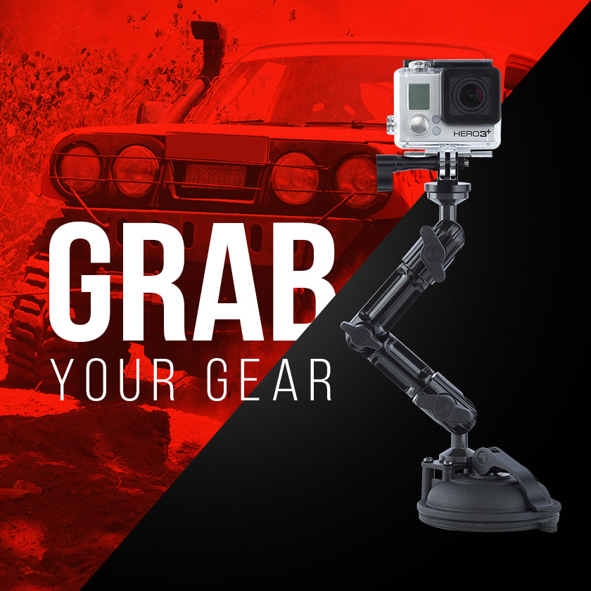 Tackform Enduro Series Mounts for GoPro