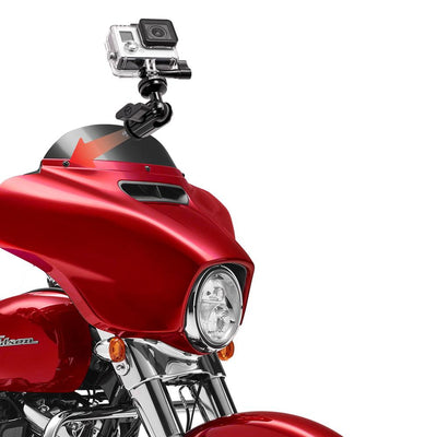Enduro Series™ Windshield and Fairing Mount | Compatible with GoPro | All Aluminum Construction