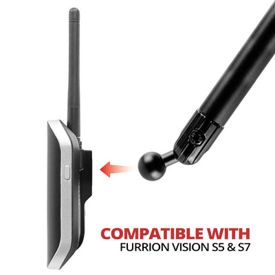 "AMPS Drill Base Mount for Furrion Vision S 5"" and 7""  