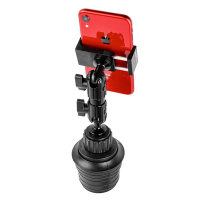 "PHONE HOLDER FOR CUPHOLDER | 3.5"" MODULAR ARM 