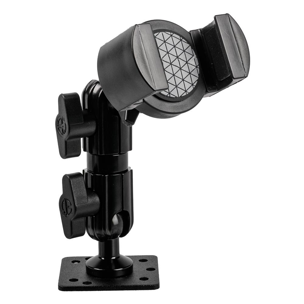"DRILL BASE PHONE HOLDER | 3.5"" ARM 