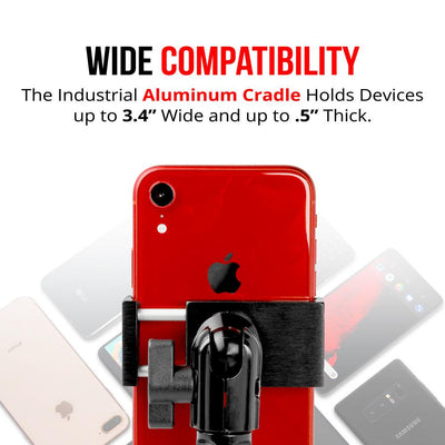 "3/8""-16 Threaded Ball Mount for Phone 