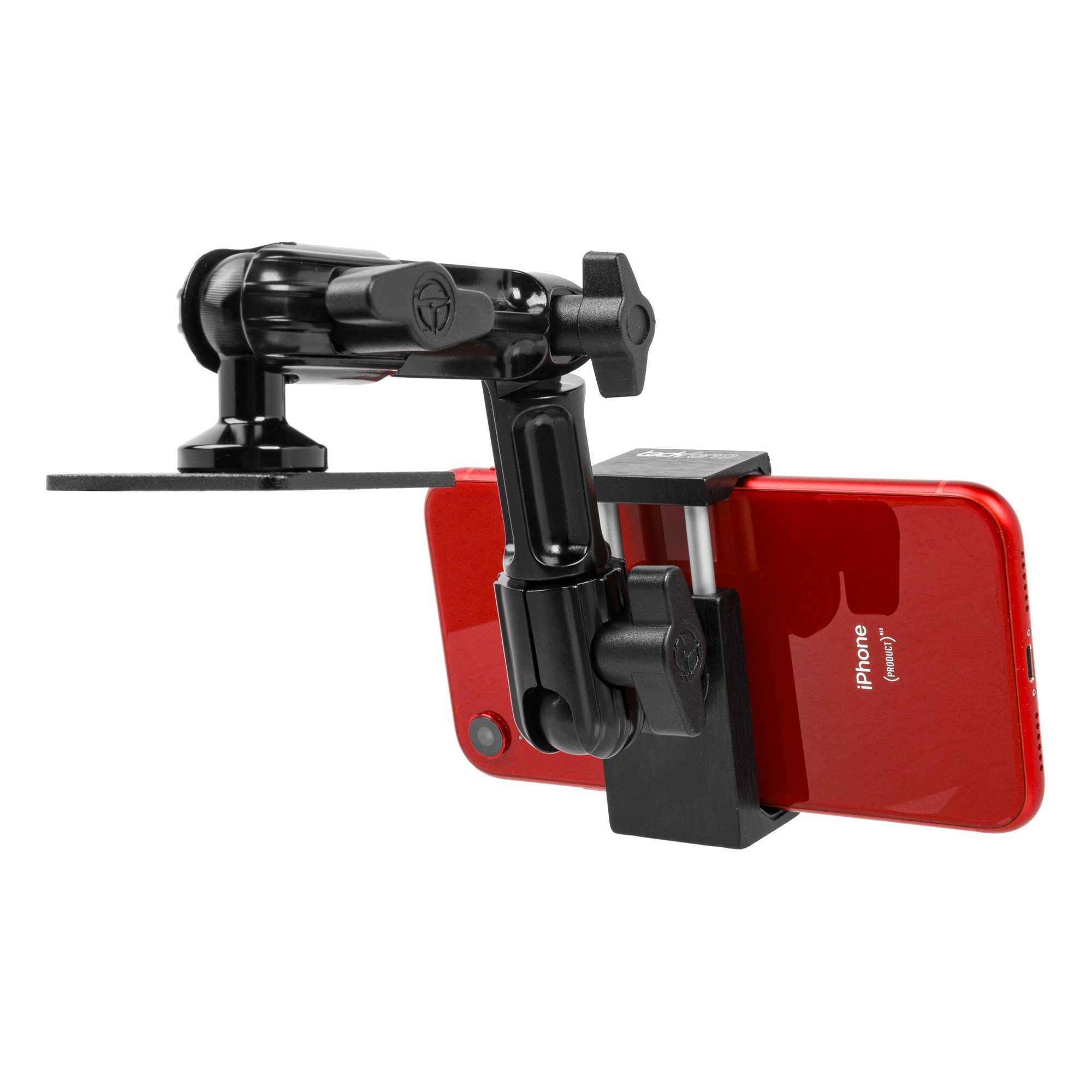 Iphone Holder for vehicle with Drill Base