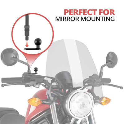 Motorcycle M8 Mount | 20mm Ball Connection | Enduro Series