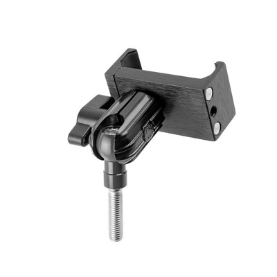 ENDURO SERIES™ MOTORCYCLE PHONE MOUNT | SHORT REACH ARM | DESIGNED TO MOUNT TO AN M8 HANDLEBAR CLAMP BOLT | ALL METAL DESIGN