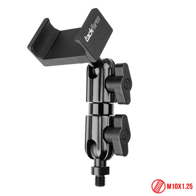 "M10 Fine Threaded Ball Mount for Phone | 3.5"" Stud Arm 