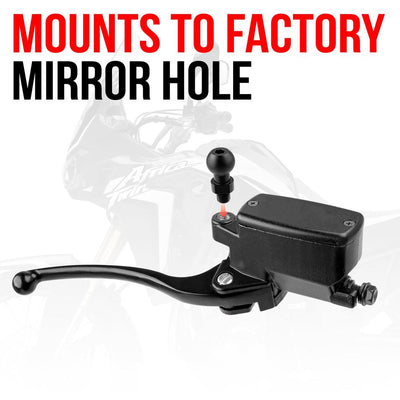 Mirror Mount | M10x1.25 Fine Thread | 20mm Ball