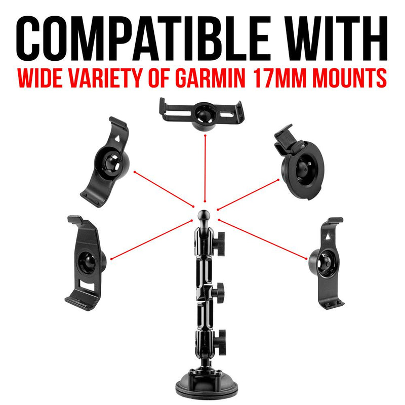 "Suction Cup Mount | 7"" Modular Arm 