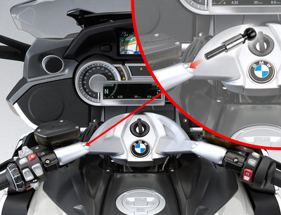 M10 Adapter for BMW Handlebars