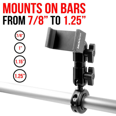 "Handle Bar Mount for 7/8""-1.25"" Bars"