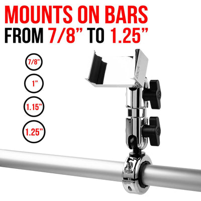 "Handle Bar Mount for 7/8""-1.25"" Bars 