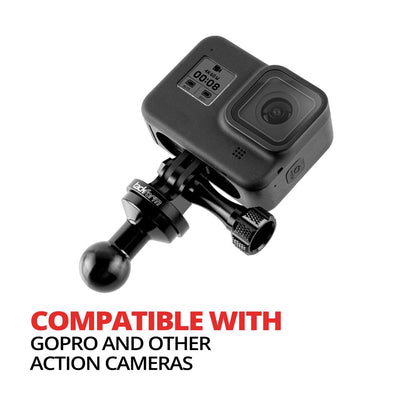 Perch/Brake/Clutch Mount for Phone and Action Camera