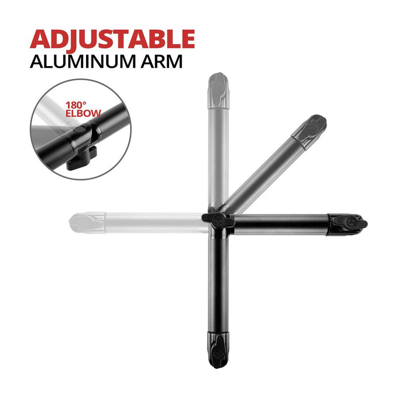 "Arm | Dual 20mm Socket | 12.25"" Total Length 
