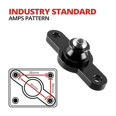 AMPS Mount | 2 Hole | Flange | Diamond Compatible