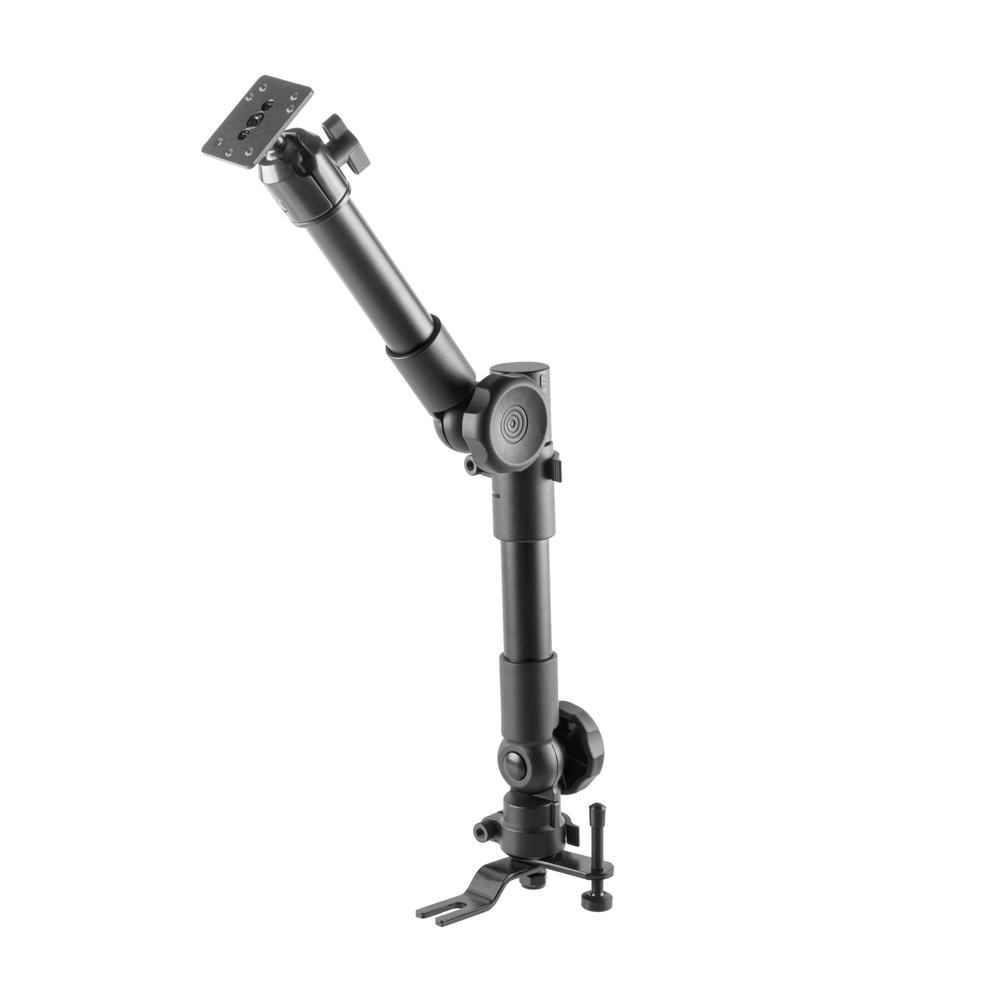 "Heavy Duty Seat Rail/Floor Bolt Mount | 20""-24"" Telescoping Arm 