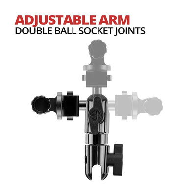 "Action Camera / Compatible with GoPro | 3.5"" Arm 