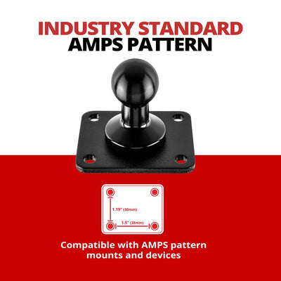 AMPS Pattern Drill Base Mount | 4-Hole Pattern