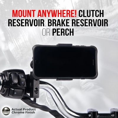 Brake/Clutch/Perch Mount | Chrome