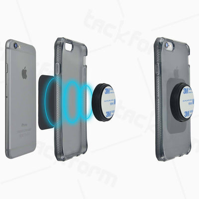 Magnetic Phone Holder | Adhesive Mountable | Low Profile Design