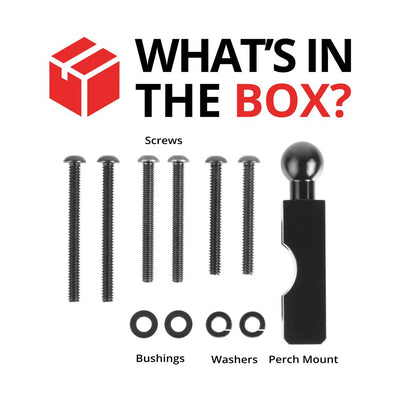 Enduro Series Motorcycle Perch Mount - What's in the box