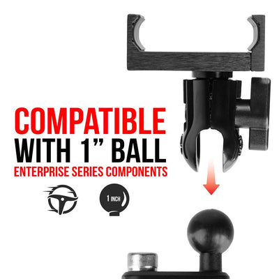 "Enduro Series™ Spring Loaded Cradle with 1"" (25mm) Coupler and Black Sling 