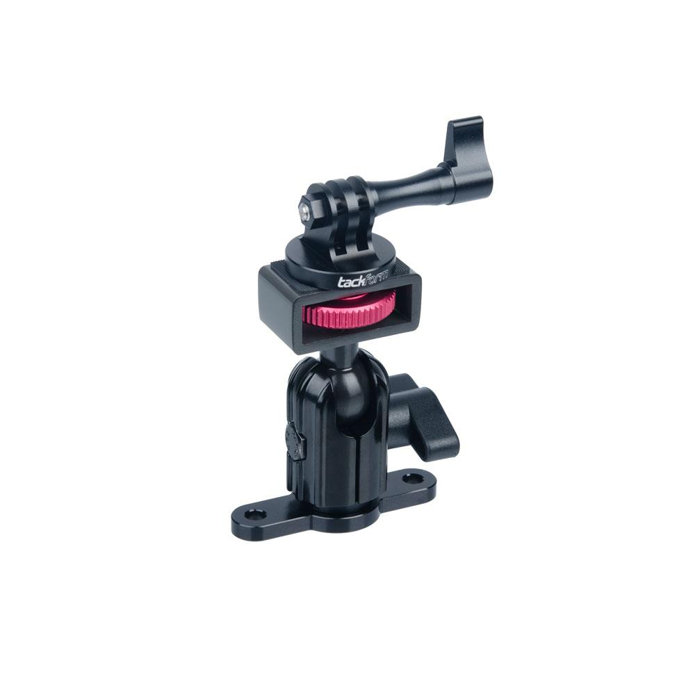 Enduro Series™ Low Profile Drill Base Action Camera Mount | Short Reach Arm | Connects To Familiar Amps Pattern Devices