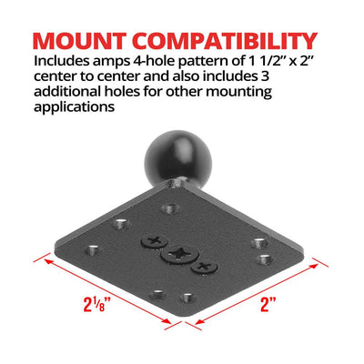 AMPS Mount | Metal | 20mm Ball
