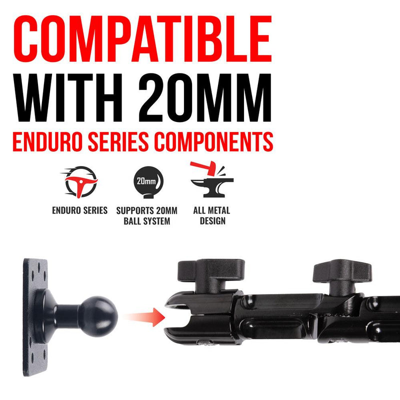 "Drill Base Mount for 17mm holder | 7"" Modular Arm 