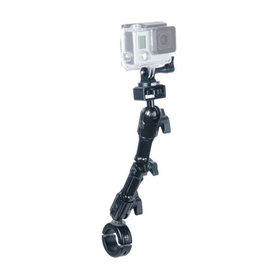 "Enduro Series™ Handlebars Camera Mount | Compatible with Gopro and Action Cameras | Clips On 7/8"" To 1-1/4"" Handlebars 