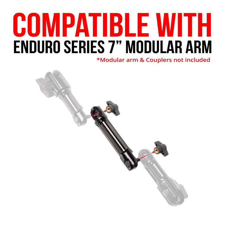 "Modular Arm Extension | 3.75"" Long 