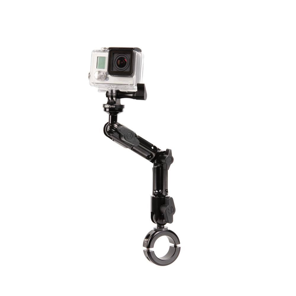 "Enduro Series™ Handlebar Mount for GoPro and Action Camera | 7"" Medium Modular Arm 