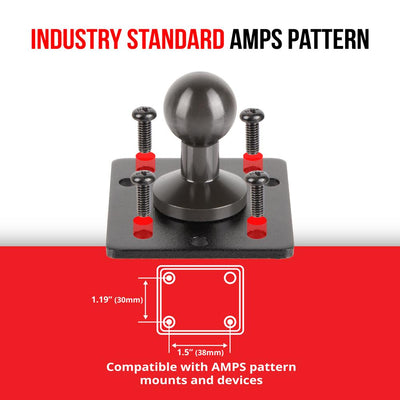 "AMPS Drill Base Mount | 4.5"" Modular Arm 