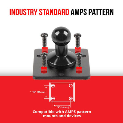 AMPS Mount | Metal | 17mm Ball