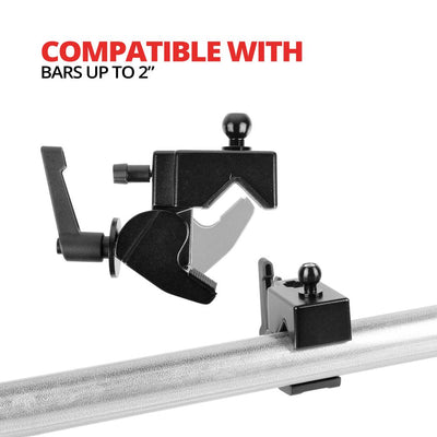 "Bar Clamp | Up to 2"" Bars 