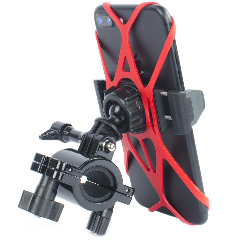 Bicycle Phone Mount >> Quick Clamp Pro Cell Phone Bike Mount Motorcycle Phone Mount